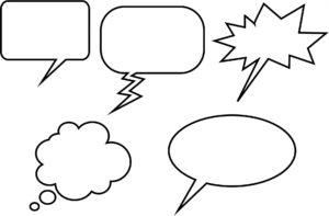 cum faci un speech bubble doar din css