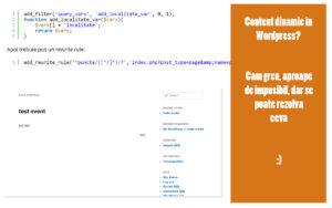 content si url dinamic wordpress