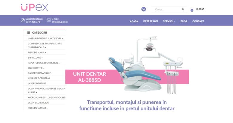 aparatura stomatologica si unituri dentare